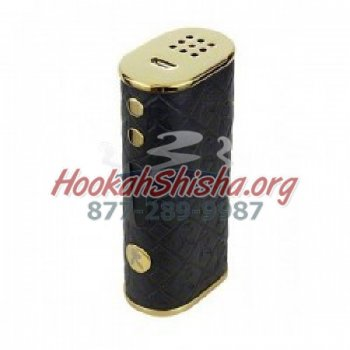 PLAYBOY LUX 65 WATT LUXURY LEATHER TEMPERATURE CONTROL BOX MOD (BLACK & GOLD)