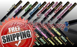 Bastone Premium 12 mg Nicotine E-Hookah Sticks: 500 Puffs :Quick Pick