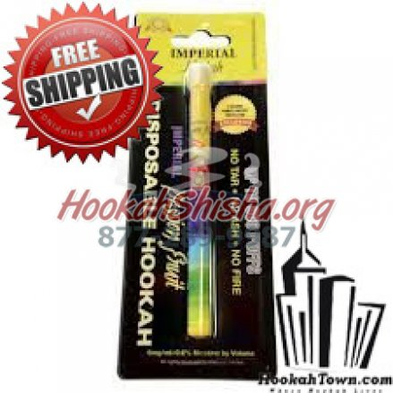 Imperial Nicotine Free Portable Hookah Stick: Passion Fruit : 600 Puffs