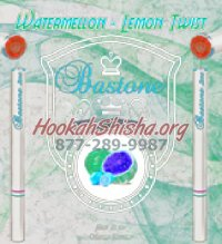 Bastone Premium E-Hookah Liquid: Watermelon Lemon Twist