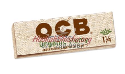 OCB ORGANIC HEMP ROLLING PAPERS 1 1/4 SIZE (50 LEAVES)