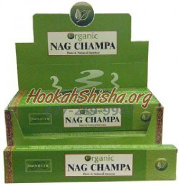 Organic Nag Champa Incense Sticks – 15 Gram Box