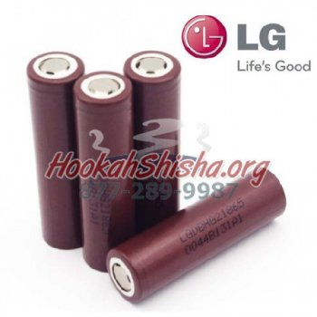 4 PACK OF LG HG2 18650 20A 3000MAH BATTERY 3.7V