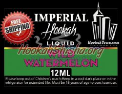 E Hookah Refill Liquid 12ml: Wild Watermelon