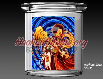 CannaFresh 22 oz Jar: Medium Jimi Hendrix