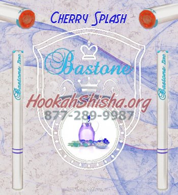 E Cig Liquid Bastone Premium: Cherry Splash