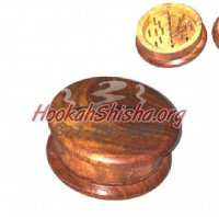 Wooden Tobacco Grinder Large