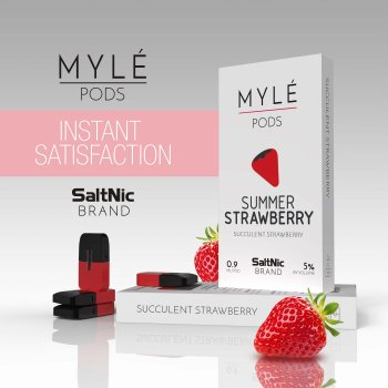 MYLE VAPE PODS: Summer Strawberry