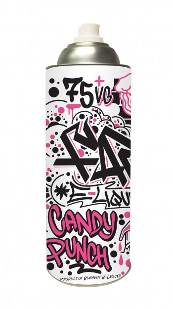 Element E-Liquid Far Candy Punch Spray Can 100ml.