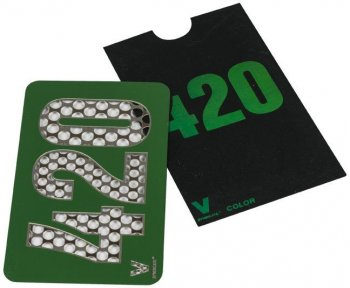 Color 420 Metal Custom Grinder Credit Card