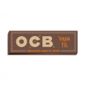 OCB Virgin Unbleached Rolling Papers 1 1/4
