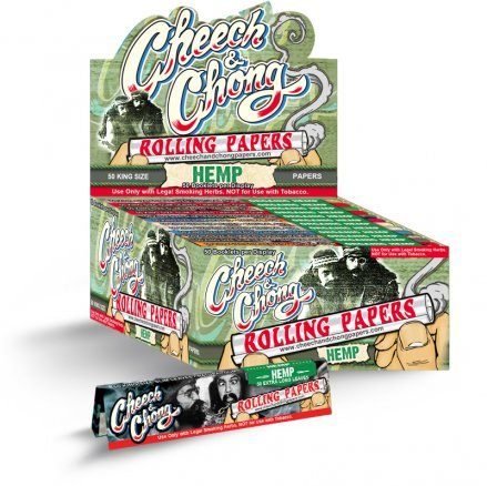 Cheech and Chong Hemp Papers - King