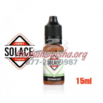 SOLACE VAPOR SALTS PEPPERMINT PATTY 30MG 15ML