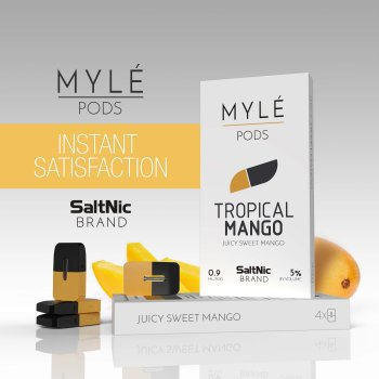 MYLE VAPE PODS: Tropical Mango
