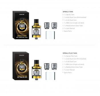 SMOK SPIRALS BIG TURBO TANK