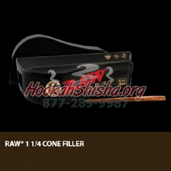 Raw 1 1/4″ Cone Filler w/ Stick Easy Fill and Pack