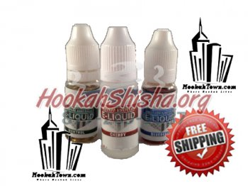 Vapor E-Cig Liquid : 12ml : 6 mg 16mg or 24 mg