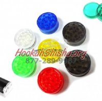 Plastic Grinder 3 pack plus cigarette roller (Colors Vary)