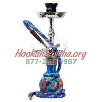 Ed Hardy Hookah - Blue - Junior 18""