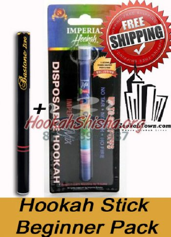 Hookah Stick Beginner Set: 4 Piece