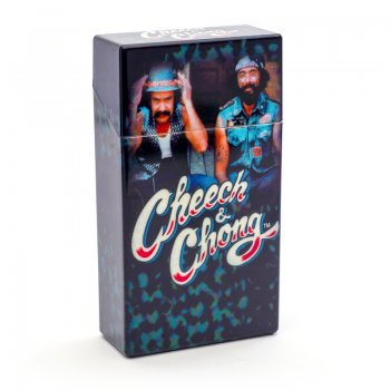 Cheech and Chong Flip Top Cigarette Case 100mm The Guys