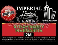 E Hookah Refill Liquid 12ml: Strawberry Margarita