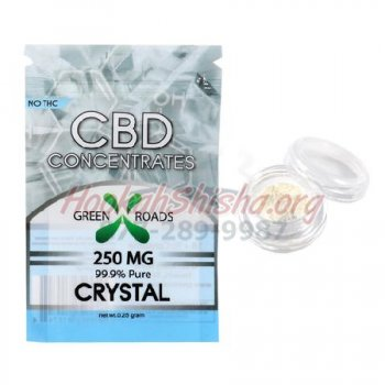 CBD 99.9% PURE CRYSTAL: 250 MG for WAX / CONCENTRATE VAPE PEN & RIGS