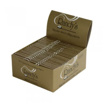 Randy's Classic's: King-Size Wired Rolling Papers Box of 25-pack