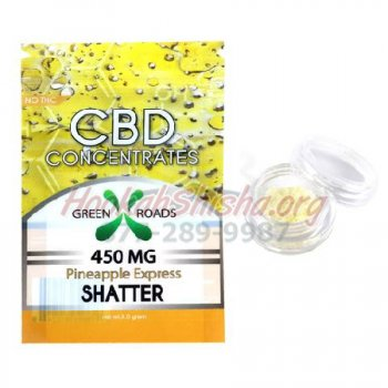 CBD SHATTER: PINEAPPLE EXPRESS: 450 MG for WAX/CONCENTRATE VAPE PEN