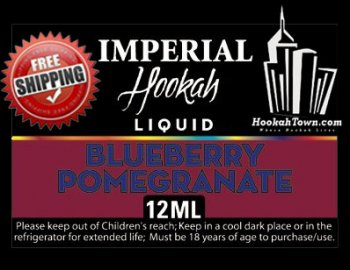 E Hookah Refill Liquid 12ml: Blueberry Pomegranate