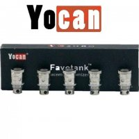 YOCAN FAVOTANK EJUICE ATOMIZER REPLACEMENT COILS