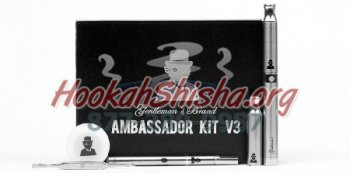 Oil, Wax, Dry Herb Vape Starter Set: Gentleman's Brand Ambassador Kit V3