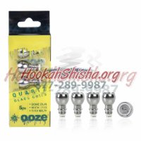 Ooze 5 Pack Dome Dual QUARTZ Coils
