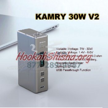 Kamry 30W V2 Box Mod: 30 Watt Variable Voltage