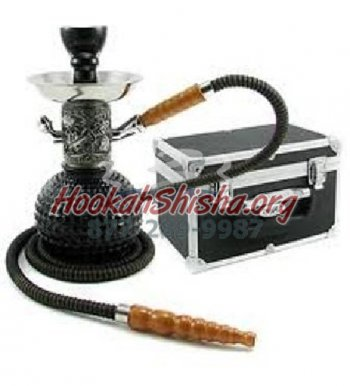 Small Hookah Spike: Classy - Single Hose hookah with suitcase