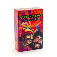 Cheech and Chong Flip Top Cigarette Case 100mm Rise To The Occasion