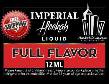 E Hookah Refill Liquid 12ml: Full Flavor