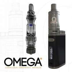 Omega Plus Connoisseur Concentrate Vaporizer