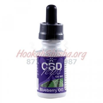 BLUEBERRY OG CBD TERPS OIL: 100 MG TOTAL CBD + BLUEBERRY OG TERPENES