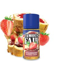 Strawberry Pound Cake 100mL Famous Fair