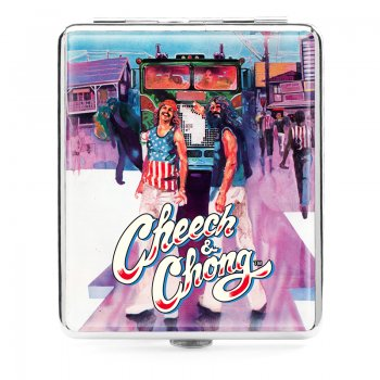 Cheech and Chong Deluxe Cigarette case 100mm 2 inch Truckin