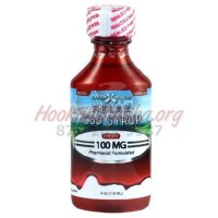 CBD DAYTIME SYRUP (RELAX): 100MG CBD 4oz Bottle: CHERRY FLAVOR