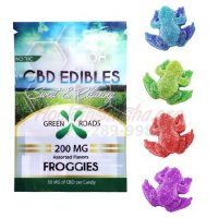 CBD GUMMIES: 200MG GUMMIE FROGGIES by GREEN ROADS