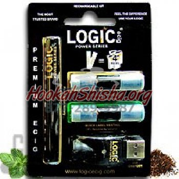 Logic Black Rechargeable Electronic Cigarette Starter Kit (1.8%)