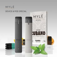 MYLE Vape Pod Pen: Nicotine Delivery System (Charger included)