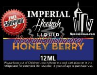 E Hookah Refill Liquid 12ml: Honey Berry