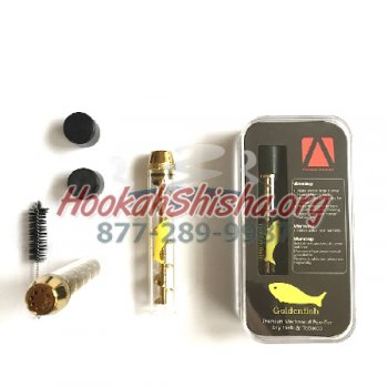 Ceramic Twisty Glass Blunt Pipe Goldenfish Pipe for Dry