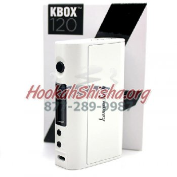 KANGERTECH KBOX 120 WATT TC BOX MOD (WHITE)