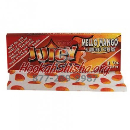 Juicy Jays Flavored Rolling Papers: Mello Mango (32 Sheets)