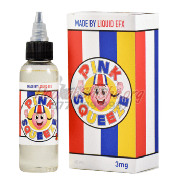 Pink Squeeze E-Liquid by Liquid EFX Vape 60ml.
